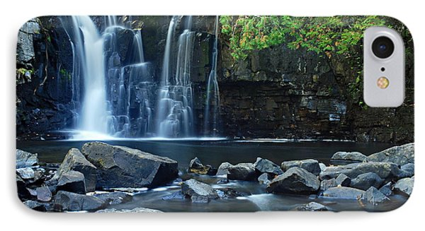 Lower Johnson Falls IPhone Case by Larry Ricker
