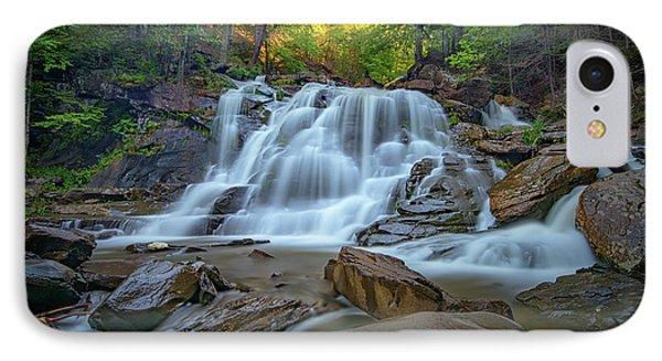 Lower Kaaterskill Falls II IPhone Case by Rick Berk
