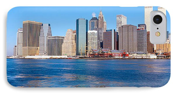 Lower Manhattan, East River, New York IPhone Case
