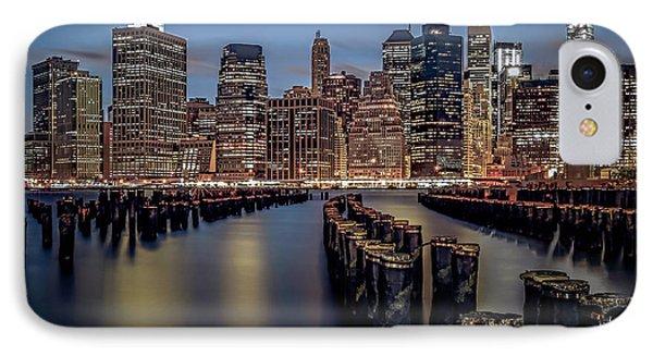 Lower Manhattan Skyline Phone Case by Eduard Moldoveanu