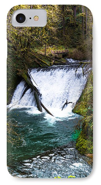 Lower North Falls IPhone Case by Jerry Cahill