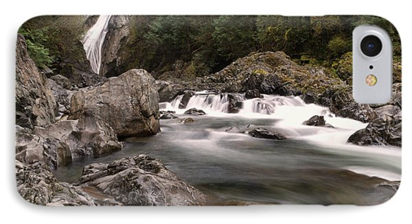 IPhone Case featuring the photograph Lower Twin Falls by Jeff Swan