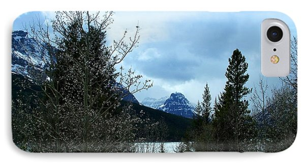 Lower Two Med Lake Through The Trees IPhone Case
