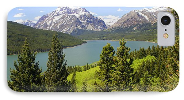 Lower Two Medicine Lake Phone Case by Marty Koch