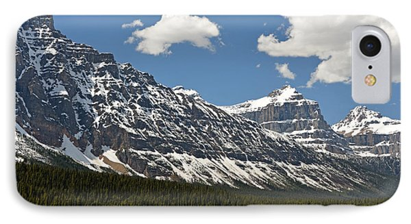 Lower Waterfowl Lake IPhone Case
