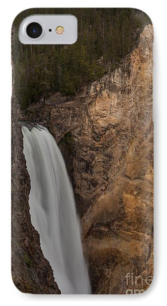Lower Yellowstone Waterall IPhone Case