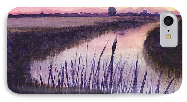 Loxahatchee Sunset IPhone Case by Donna Walsh