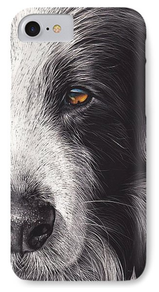 Loyal Companion IPhone Case by Elena Kolotusha