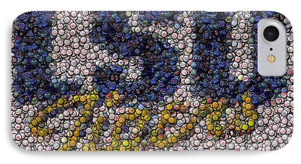 Lsu Bottle Cap Mosaic IPhone Case