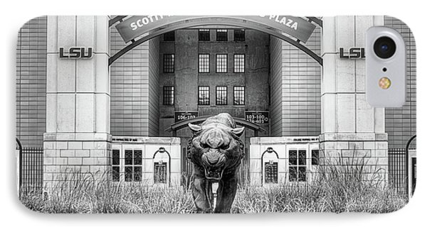 IPhone 7 Case featuring the photograph Lsu Tiger Stadium by JC Findley