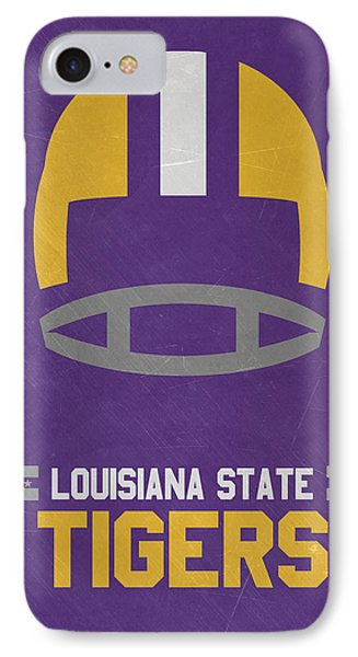 Lsu Tigers Vintage Football Art IPhone Case