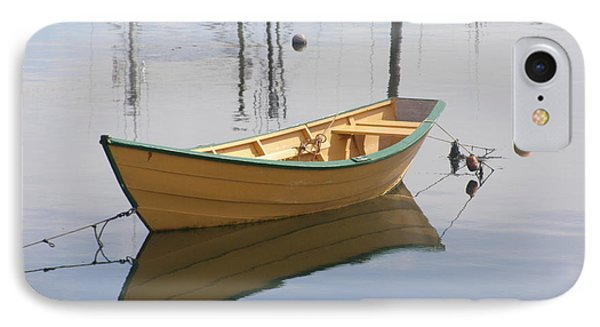Lttle Row Boat Phone Case by Frederic Durville