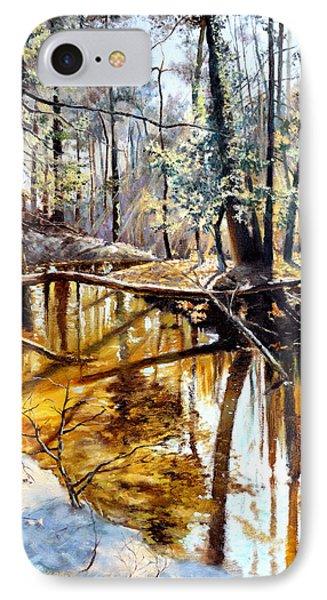 Lubianka-2-river IPhone Case by Henryk Gorecki