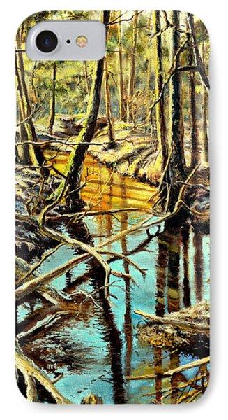 Lubianka-3-river IPhone Case by Henryk Gorecki