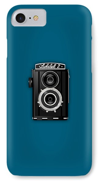 Lubitel 2 Vintage Camera Collection IPhone Case