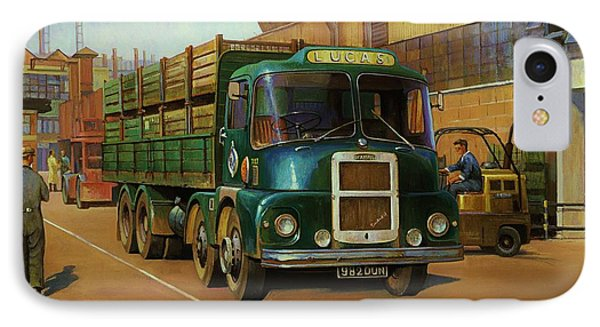 Lucas Scammell Routeman I Phone Case by Mike  Jeffries