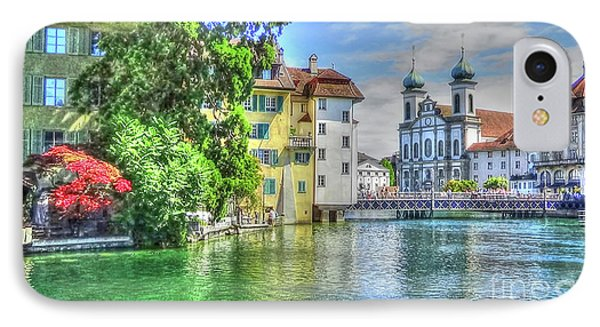 IPhone Case featuring the photograph Lucerne by Adrian LaRoque