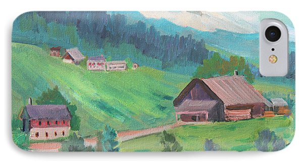 Lucerne Countryside IPhone Case by Diane McClary