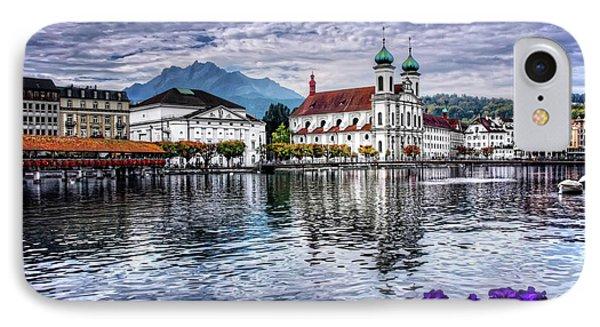 Lucerne In Switzerland  IPhone Case by Carol Japp