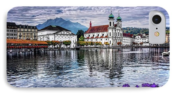 Lucerne In Switzerland  IPhone Case by Carol Japp