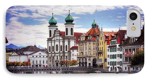 IPhone Case featuring the photograph Lucerne Switzerland  by Carol Japp