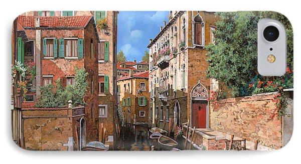 Luci A Venezia IPhone Case by Guido Borelli