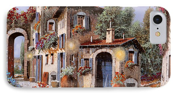 Luci All'entrata IPhone Case by Guido Borelli