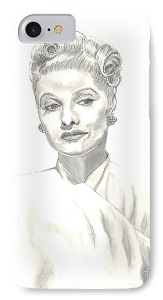 Lucille IPhone Case by Carol Wisniewski