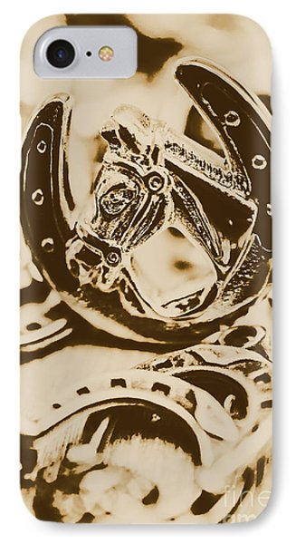 Lucky Cowboys Charm IPhone Case by Jorgo Photography - Wall Art Gallery