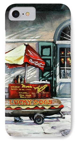 Lucky Dogs Phone Case by Dianne Parks