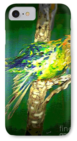 IPhone Case featuring the painting Lucky Louie by Desline Vitto