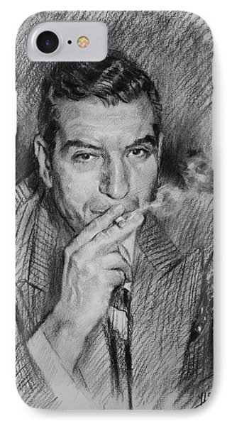 Lucky Luciano IPhone Case by Ylli Haruni