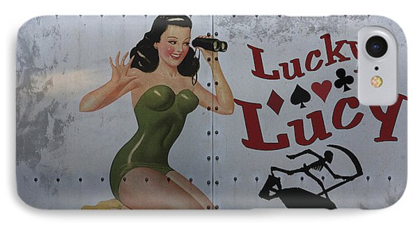 Lucky Lucy Noseart Phone Case by Cinema Photography