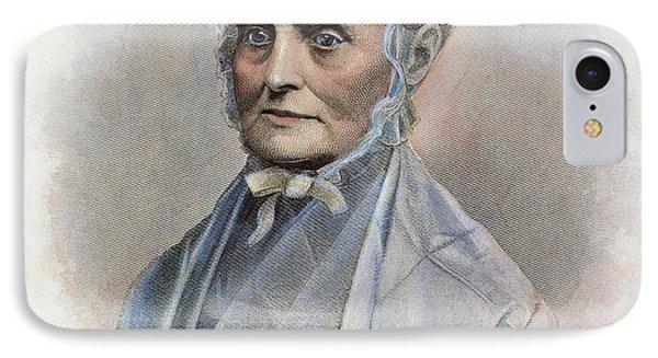 Lucretia Coffin Mott IPhone Case by Granger