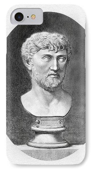 Lucretius (96 B.c.?-55 B.c.) Phone Case by Granger