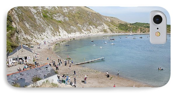 Lulworth Cove Dorset Uk Phone Case by Andy Smy