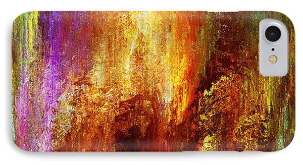 Luminous - Abstract Art IPhone Case by Jaison Cianelli
