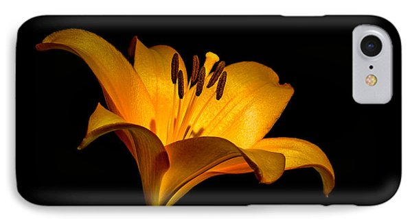 Luminous Lilly IPhone Case