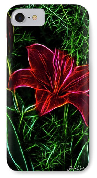 Luminous Lily IPhone Case by Joann Copeland-Paul