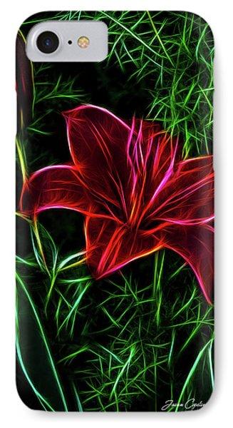 Luminous Lily IPhone Case
