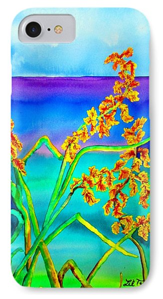 IPhone Case featuring the painting Luminous Oats by Lil Taylor