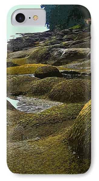 Lumps And Bumps Along Gabriola's Shoreline IPhone Case