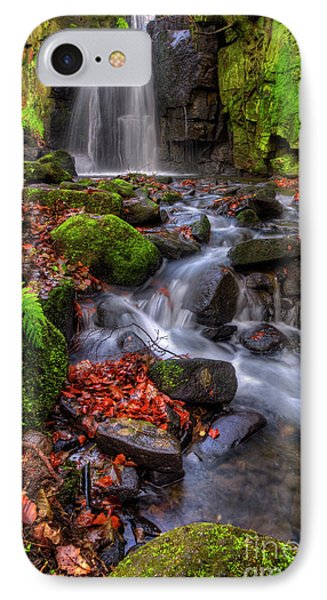 IPhone Case featuring the photograph Lumsdale Falls 4.0 by Yhun Suarez