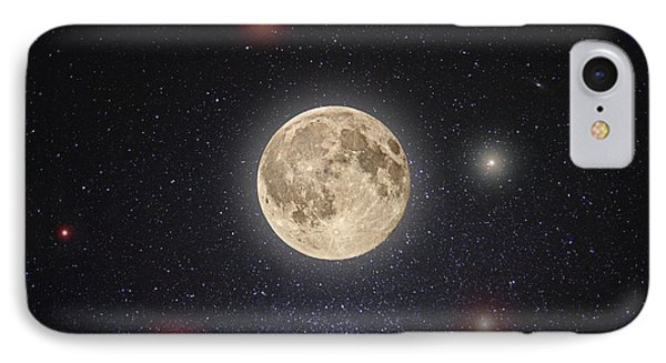 Luna Lux IPhone Case by Steve Gadomski