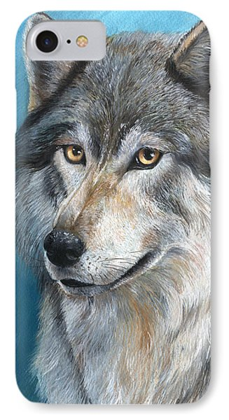 IPhone Case featuring the painting Luna by Sherry Shipley