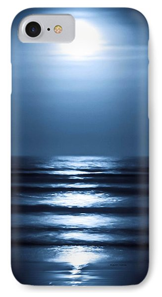 Lunar Dreams IPhone Case by DigiArt Diaries by Vicky B Fuller