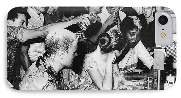 Lunch Counter Sit-in, 1963 Phone Case by Granger