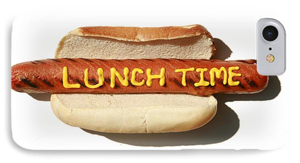 Lunch Time Phone Case by Michael Ledray