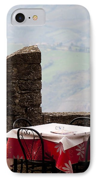 Lunch With A View Phone Case by Rae Tucker