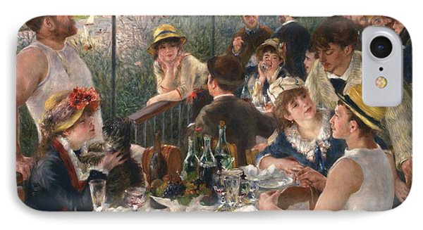 Luncheon Of The Boating Party By Renoir IPhone 7 Case